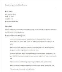 Sample Police Officer Resume by Sample Police Officer Resume Template Course Millions Tk