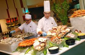 All You Can Eat Lobster Buffet by Kee Hua Chee Live Deep Blue Seafood Night Every Thursday Friday