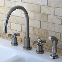 Widespread Kitchen Faucet Kitchen Faucets Kitchen Sink Faucets Kingston Brass