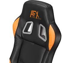 gaming chair black friday afx afxchair16 gaming chair black u0026 orange deals pc world