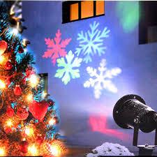 christmas tree laser lights led snowflake laser light projector outdoor landscape garden lawn