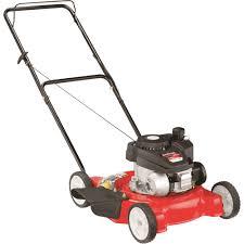 yard machines push lawn mower u2014 140cc powermore engine 20in deck