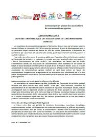 consomag fournitures bureau communique de presse d indecosa national indecosa cgt 17