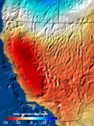 nasa analysis 11 trillion gallons to replenish california drought
