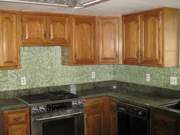 Green Kitchen Backsplash Tile Green Kitchen Backsplash Tile With Inspiration Photo Oepsym