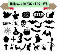 halloween silhouette png halloween monster pumpkin bat spider net ghost spirit silhouette