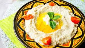 cuisine libanaise recette baba ghanouj recette libanaise aux delices du palais