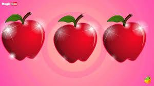 apple cartoon an apple a day english nursery rhymes cartoon animated rhymes