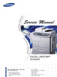 samsung scx 6545n electrostatic discharge image scanner