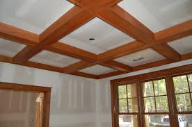 interior design coffered ceiling cost with ceiling fan and light