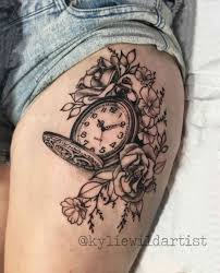 on forearm dreamcatcher rose tattoo on my thigh beautiful body art