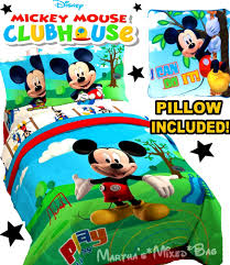 Ebay Twin Beds Bathroom Pleasing Mickey Mouse Bedding Walmart Comforter Set