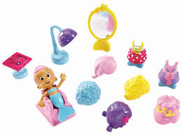 amazon com fisher price nickelodeon bubble guppies snap and dress