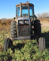 white 2 105 field boss tractor item e8175 sold december