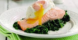 Dinner Egg Recipes Poached Egg U0026 Salmon Recipe Healthy Egg Recipes