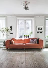 Orange Sofa Living Room Ideas 23 Living Rooms With Bold Orange Sofas Messagenote