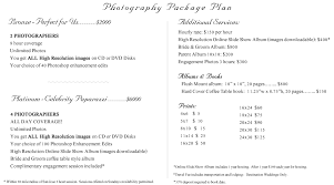 wedding packages prices wedding photography prices beauteous wedding photography prices