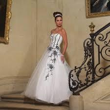 robe de mariã e pas cher en couleur tomy prestige odwin ivoire et noir superbes robes de mariée pas