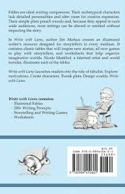 Creative Writing Prompts For Kids Worksheets Write With Lions Prompts And Exercises Based On Famous Fables
