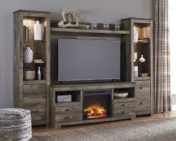 trinell brown entertainment wall from ashley w446 68 24 2 27