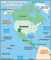 map of the united states with arizona highlighted arizona map geography of arizona map of arizona worldatlas