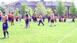 Coed Flag Football League Co Ed Flag Football Week 7 1 Of 3 Youtube