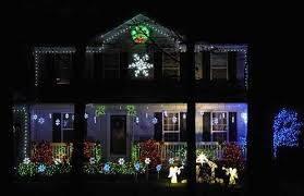 local holiday light displays go to the next level synchronized