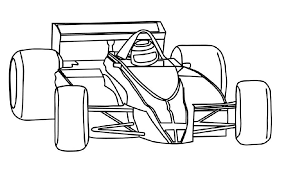 formula 1 race car coloring page 3243 colordsgn co