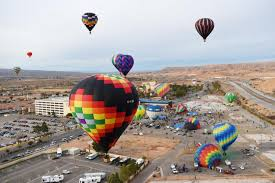 balloons las vegas delivery mesquite hot air balloon festival adds a color to the sky