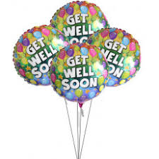 get well soon balloons delivery get well balloons deliveryuk send get well soon balloons