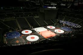 Pepsi Center Map Live Coverage Colorado High State Wresting 2016