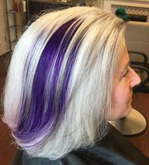 hair colors for women over 60 gray blue 60 gorgeous gray hair styles purple balayage ash blonde hair