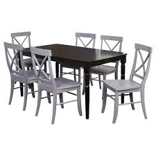 target kitchen table and chairs target marketing sys dining table set gray target