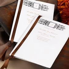 wedding programs with ribbon creative crafty ribbon ideas for your wedding wedding newsday