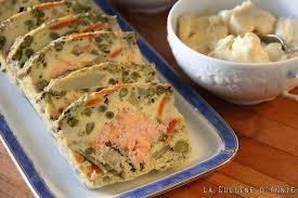 recette de cuisine familiale recette terrine de saumon aux légumes recette terrine de saumon