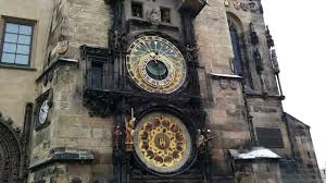 prague astronomical clock ringing on the hour youtube