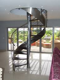 brown color round iron stairs 2014 trendy mods com