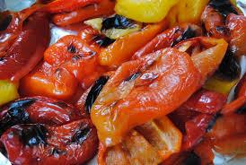 cuisiner poivron poivrons grillés version potage ou sauce brut l de vivre