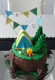 camping themed cakes cupcakes u0026 cookies celebrations southern