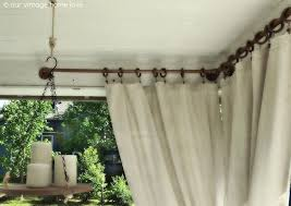 How To Make Curtains Hang Straight 253 Best Drop Cloths Images On Pinterest Diy Drop Cloth