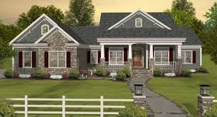 house plans with front porch country house plans with porches low french english home plan