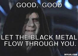 Emperor Palpatine Meme - let the hate flow through you know your meme