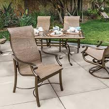 tropitone fire pit table reviews montreux sling tropitone