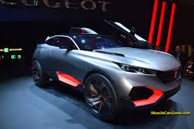 peugeot sports car 2015 2015 peugeot quartz suv concept futuristic car 05 2015 geneva