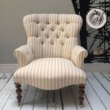 Armchair Upholstered Napoleonrockefeller Com Collectables Vintage And Painted Furniture