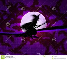 halloween background witch violet witch halloween background stock photo image 26753600