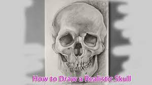 how to draw a skull how to draw a skull