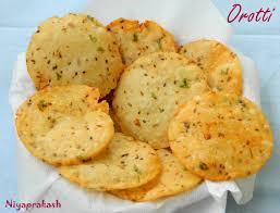 malabar cuisine niya s orotti fried rice flour puris in malabar cuisine