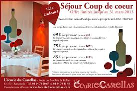 week end valentin chambre avec hotel ecurie du castellas hotel restaurant ramatuelle