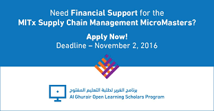 Now Open For Supply Chain Palestinian Students Funds
